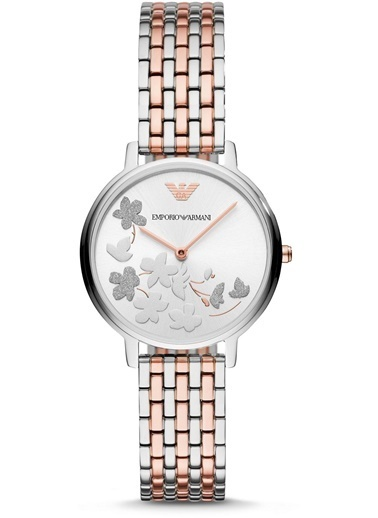 Emporio Armani Saat Gümüş